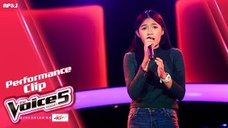 Repeat youtube video The Voice Thailand - ไอซ์ ธมลวรรณ - คนไม่มีเวลา -  2 Oct 2016