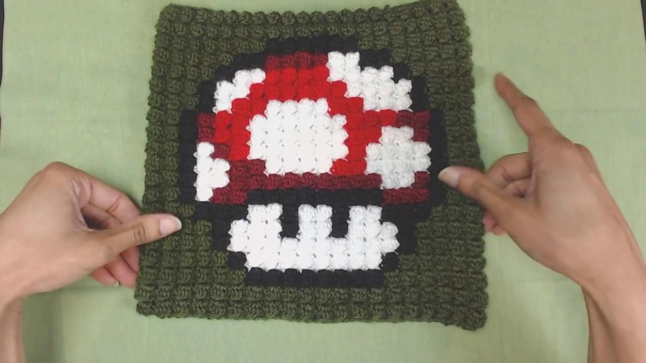 Mario Mushroom Bobble Stitch