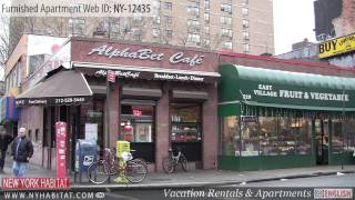 Video Tour of a Furnished Studio Apartment in the East Village (Manhattan - New York City)