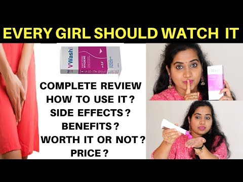 VWash Plus Intimate Hygiene Wash REVIEW   How to use it ? Worth it ? Price ? Side effects