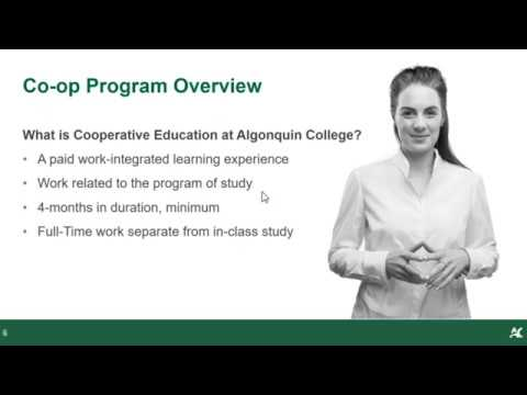 Set Yourself Up for Success With Algonquin College Coop - Webinars