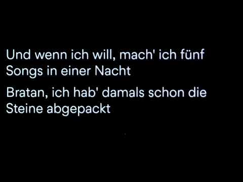 5 Songs In Einer Nacht-Capital Bra[Lyrics]