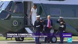 """Donald Trump: """"China nos está decepcionando"""""""