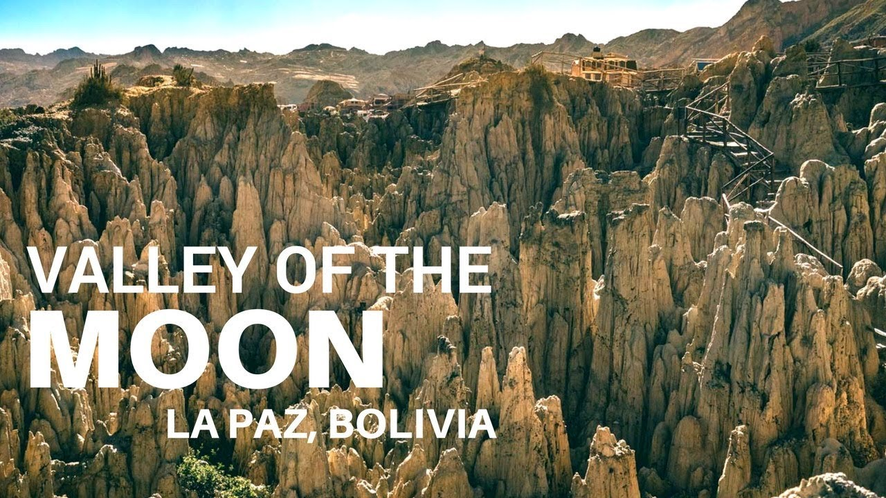 Valley Of The Moon Valle De La Luna La Paz Bolivia Dji Mavic Pro Sony A7rii Youtube
