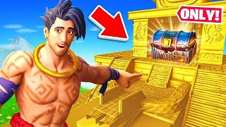 The BUNKER CHEST *ONLY* Challenge in Fortnite!