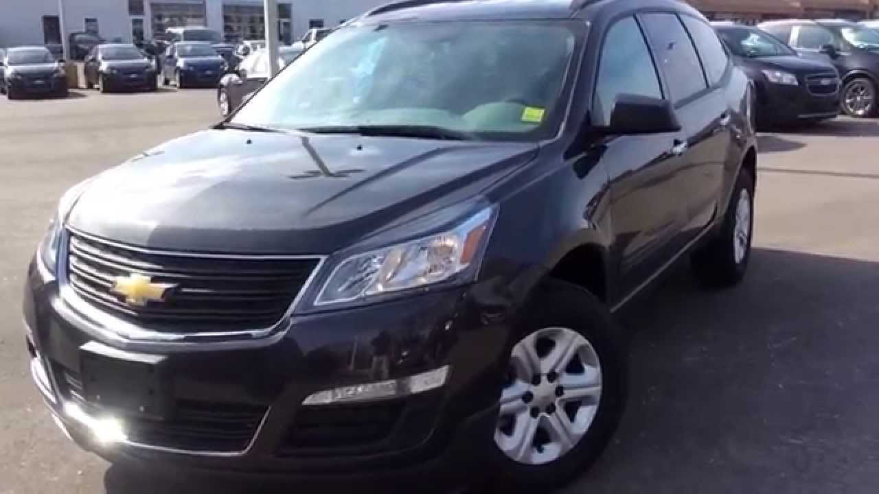 new 2014 chevrolet traverse ls review 140377 youtube. Black Bedroom Furniture Sets. Home Design Ideas