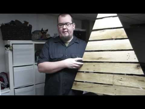 Pallet Up Cycle Challenge 2014 | Pallet Christmas Tree