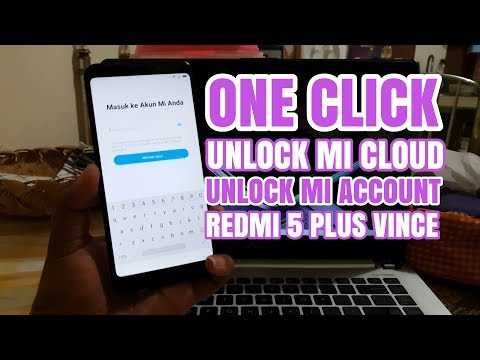 how to unlock redmi 5 mi account