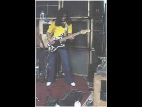 Eddie Van Halen 1978 Session for Ted Templeman