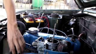 70's Datsun quick Carb clean