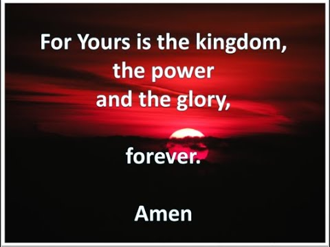 Kingdom, Power and Glory!