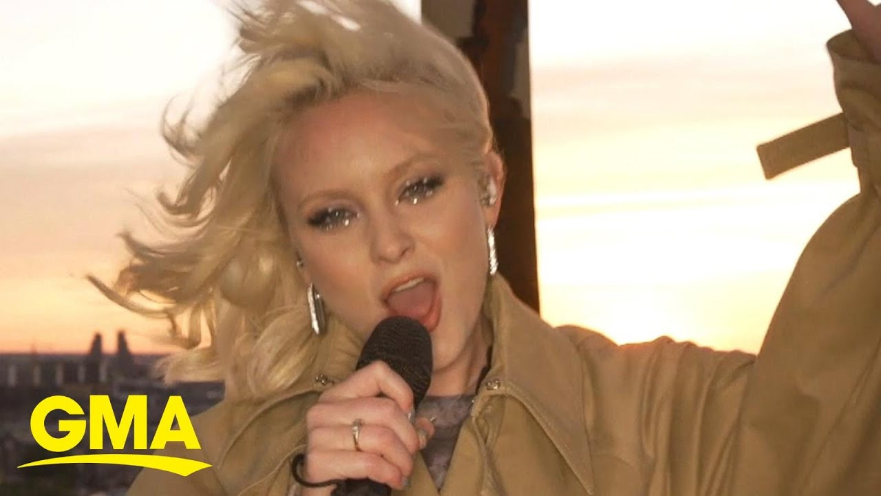 Mama Mia! Swedish pop star Zara Larsson channels ABBA in her new music | GMA