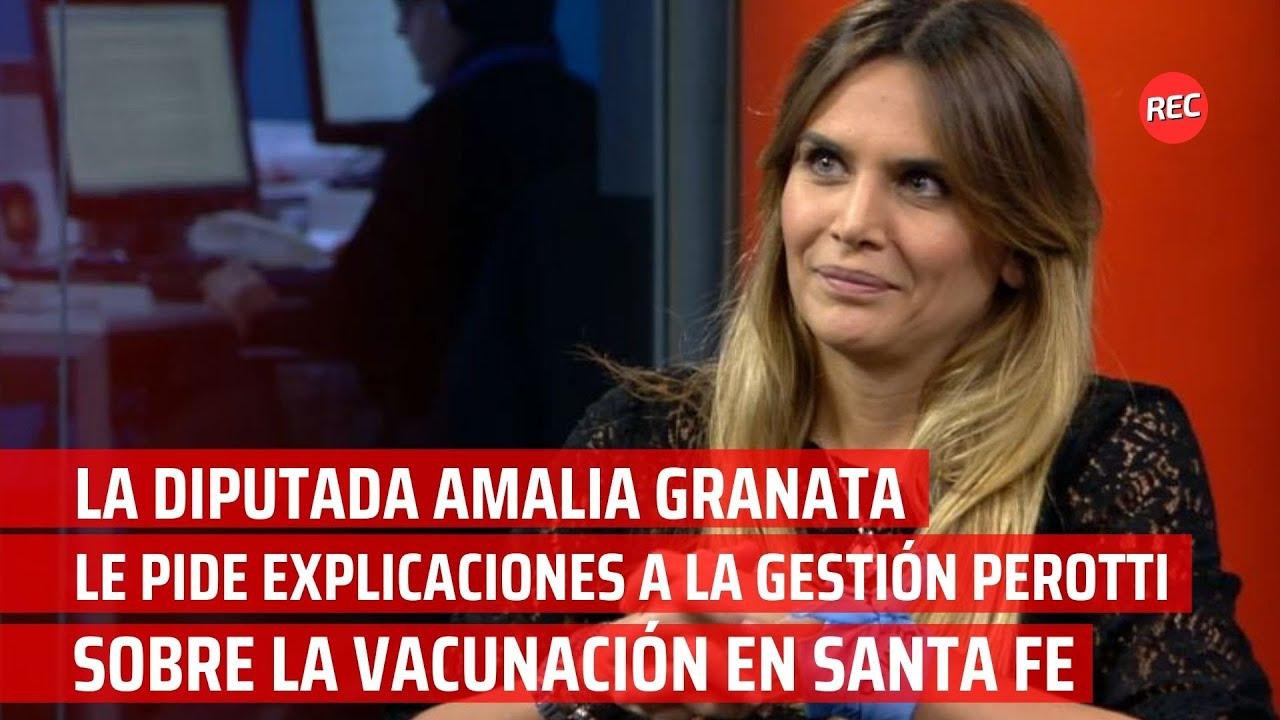Granata le pide explicaciones a la gestión Perotti sobre la vacunación en Santa Fe