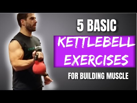 Build And Tone Muscle From Home With Just A Kettlebell 5 Basic Exercises