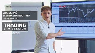 Jak ugrać u brokera 500 tys?, Rafał Zaorski, #8 Trading Jam Session 09.07.2015