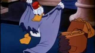 Donald Duck Bellboy Donald