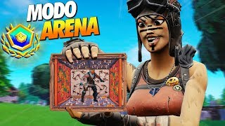 AS TRAPS ME SALVARAM NO FINAL DA SCRIM - FORTNITE ARENA SOLO