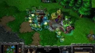 Warcraft 3 TFT SK. MaDFroG (UD) vs SK. Survivor (HU) part 2/2 game 4