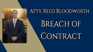 Video What is a Breach of Contract download MP3, 3GP, MP4, WEBM, AVI, FLV November 2017