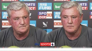"""""""It's not been easy!""""   Steve Bruce's first press conference since the takeover of Newcastle"""