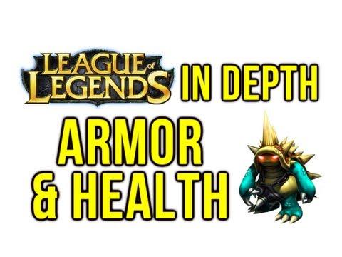 League Of Legends In Depth - Armor & Magic Resist (Dimishing Returns & Efficiency)