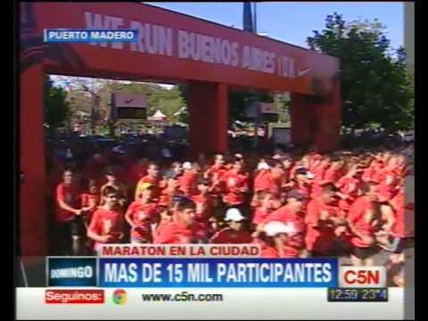 "C5N - DEPORTES: CARRERA ""WE RUN BUENOS AIRES"""