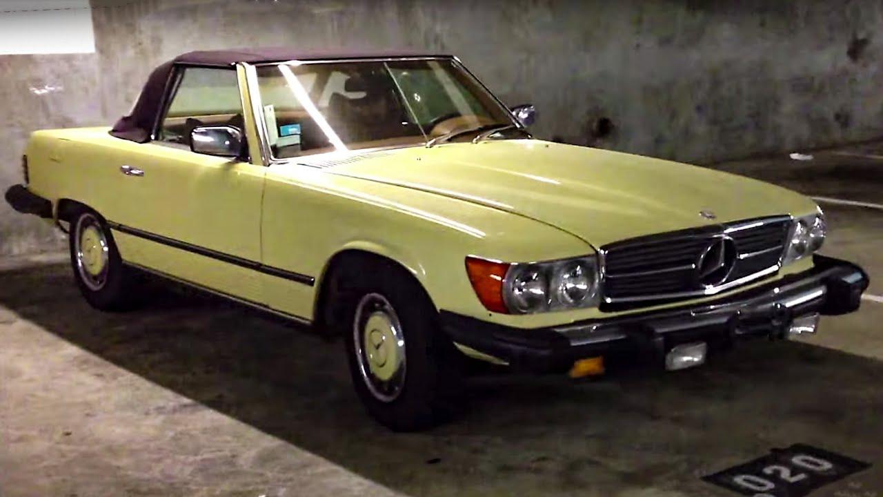Mercedes 450SL (1974-1977-ish) - YouTube