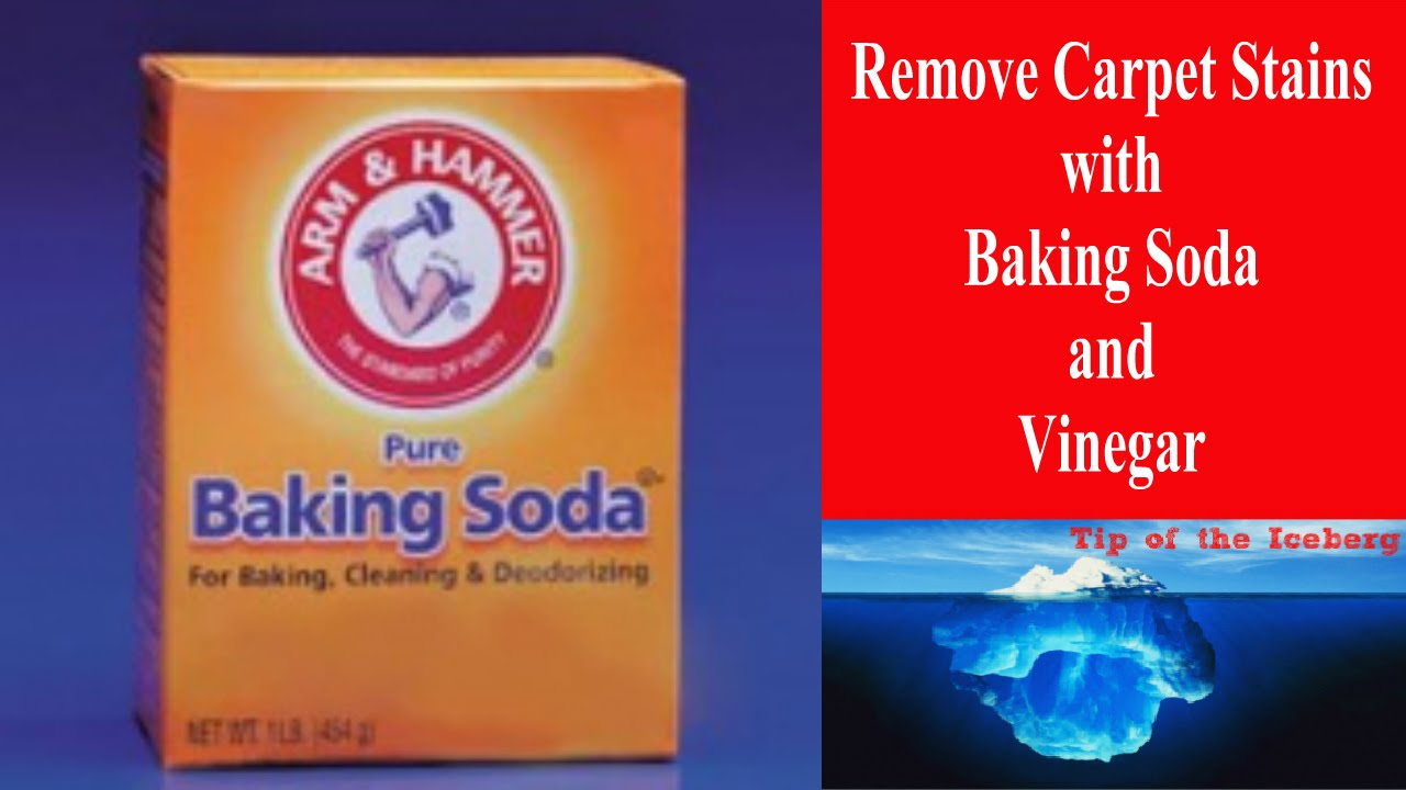 Carpet Stain Removal With Baking Soda And Vinegar Watch That Vanish Before Your Eyes You
