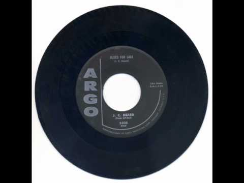 J.C. HEARD-Blues For sale.wmv