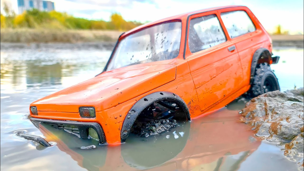 RC CARS MUD OFF ROAD DANGEROUS SWAMP – NIVA, JEEP, MERCEDES