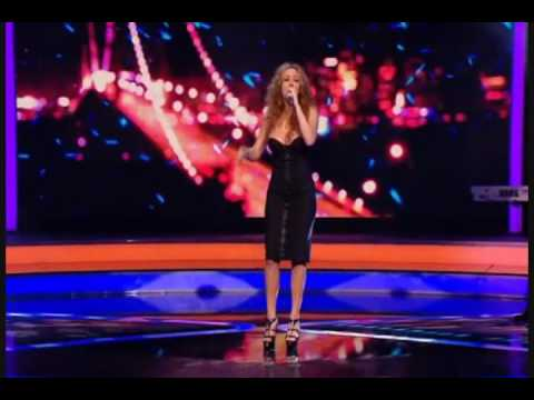 Mariah Carey I Stay In Love live at the x factor