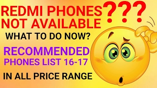 TOP PHONES LIST | RECOMMENDED PHONE LISTS | REPLACEMENT OF XIAOMI PHONES