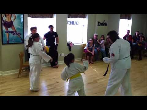 Bridges Martial Arts - RiverBend Academy Demonstration - Self-Defense