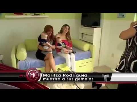 Avance para ARV - Maritza Rodriguez presenta a sus hijos ...  Avance para ARV...