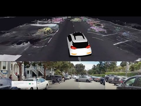 How Cruise Self-Driving Cars Navigate Double-Parked Vehicles