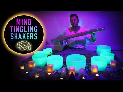 Sound Bath Tingles - Shaman Trance (No Talking) Sleep | Study | Meditation | Heal | Tingles