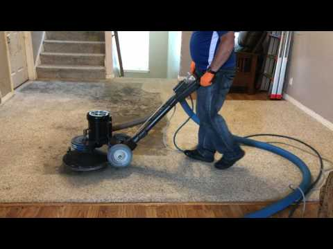 Shocking Before and After video - Carpet cleaning