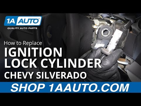 How to Replace Ignition Lock Cylinder 07-13 Chevy Silverado