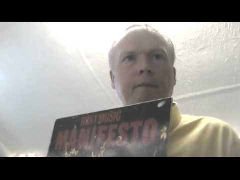 Roxy Music Manifesto Vinyl Record
