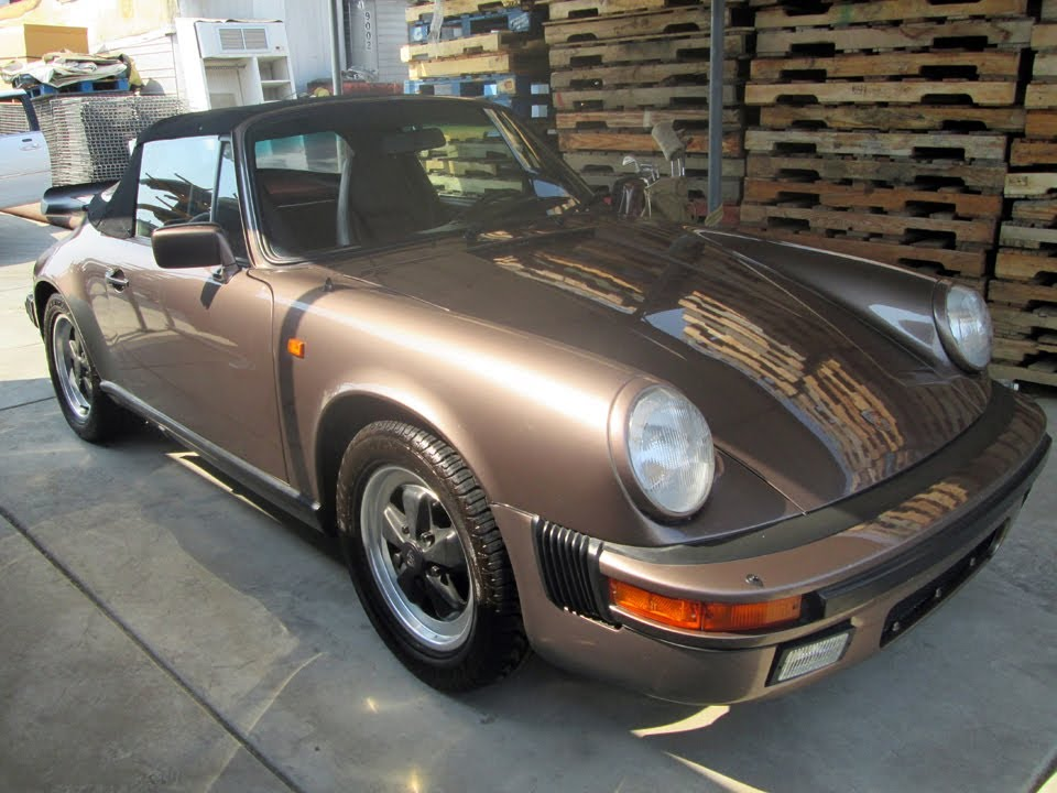 for sale 1983 porsche 911 sc cabriolet convertible youtube. Black Bedroom Furniture Sets. Home Design Ideas