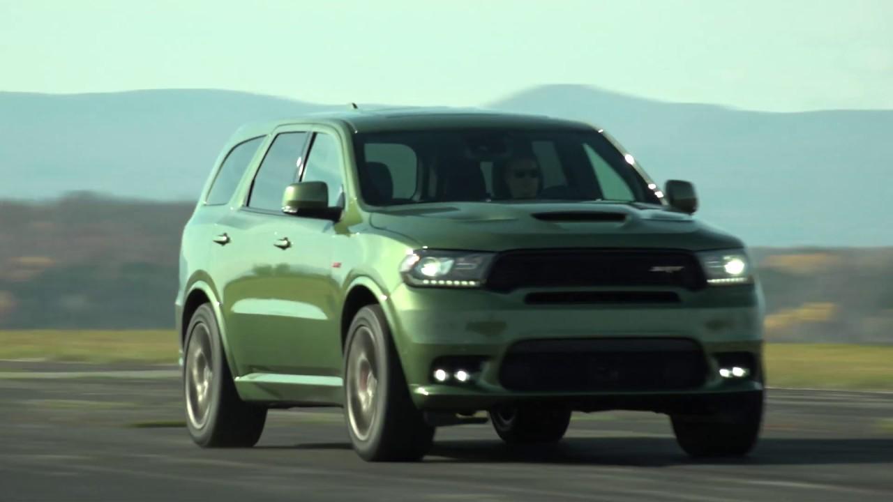 dodge durango srt green 1 Dodge Durango SRT  F1 Green Hell  TestDriveNow