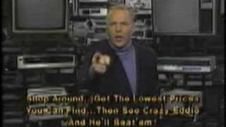 Crazy Eddie commercial 1986