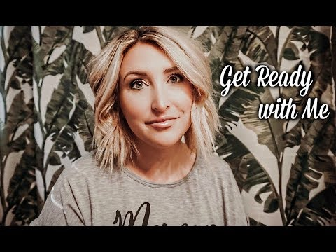 GET READY WITH ME | Newborn Sleep Schedule, New Makeup + MORE!