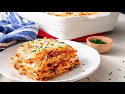 how-to-make-the-easiest,-cheesiest-lasagna-ever-|-delish-insanely-easy