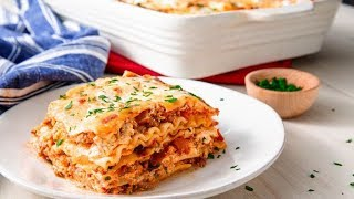 How To Make The Easiest, Cheesiest Lasagna Ever | Delish Insanely Easy