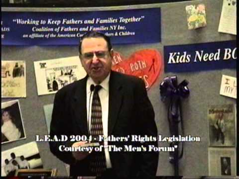 We rally for Fathers' Rights in Albany - Rep. David Sidikman Speaks - GREAT!