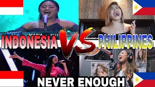 Download lagu Indonesia VS Philippines | Never Enough | Who Sang It Better? MP3