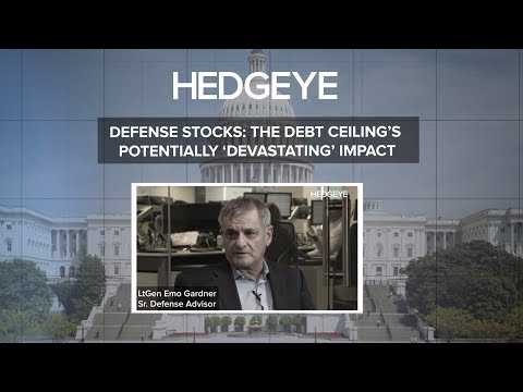 Defense Stocks: The Debt Ceiling's Potentially 'Devastating' Impact