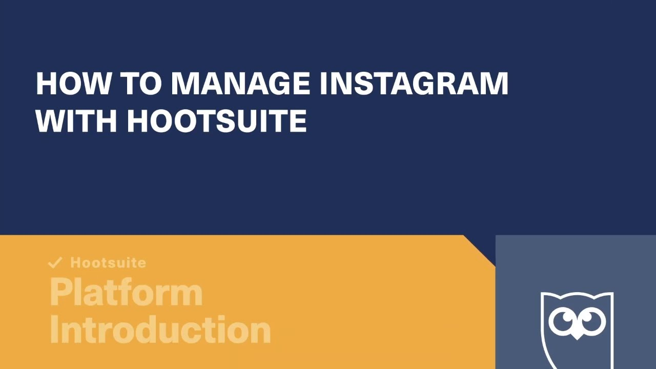 How to Manage Instagram with Hootsuite