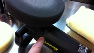 #5000 Grit Wetsanding Marks Removed with a DA Polisher